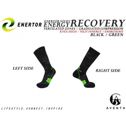 ENERTOR Energy Recovery Running Socks